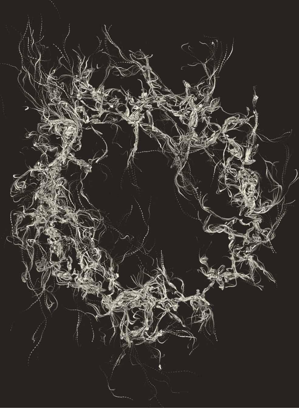 FLow Fiel Generative art javascript 06