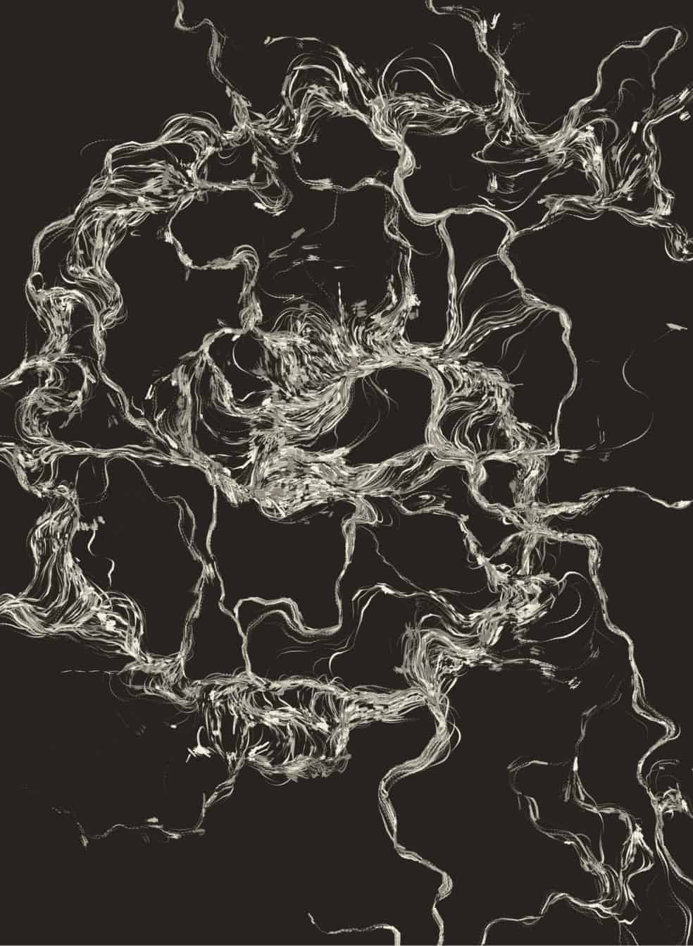 FLow Fiel Generative art javascript 03