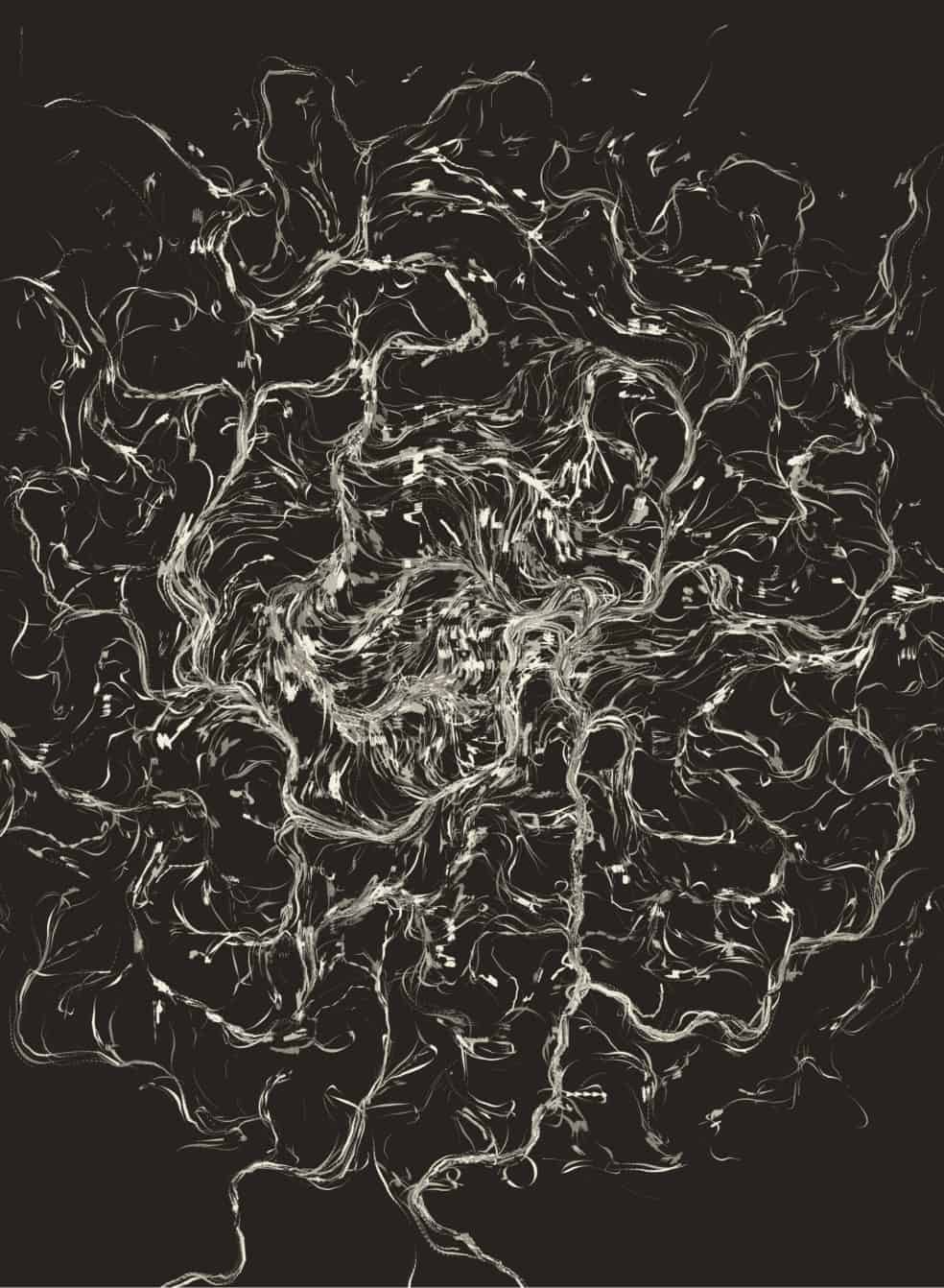 FLow Fiel Generative art javascript 01